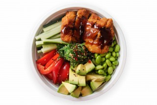 chicken poke bowl